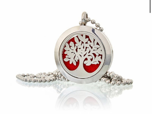 Aromatherapy Diffuser Neckless- Tree of Life