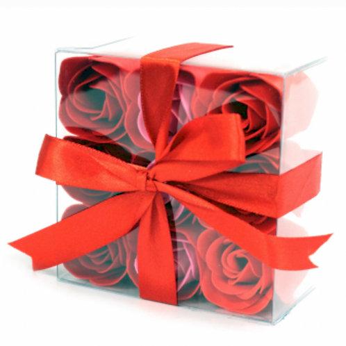 9 Soap Flower- Red Roses