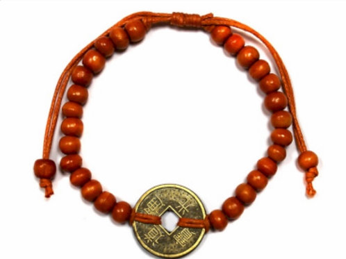Good Luck Feng-Shui Bracelet- Orange