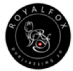RoyalFox Logo offiziell - RoyalFox official Logo - RoyalFox of Switzerland