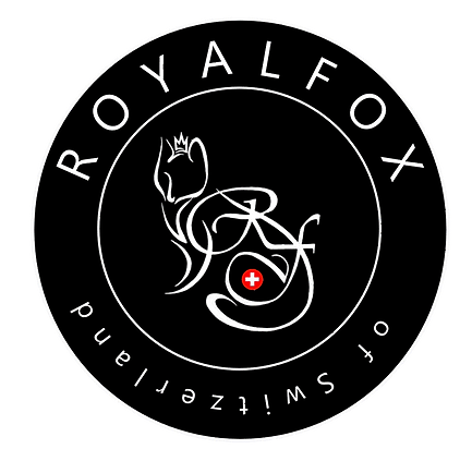 RoyalFox Logo offiziell - RoyalFox official Logo - RoyalFox of Switzerland