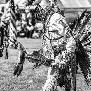 Native American BW