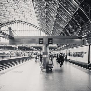 Platform St Pacras