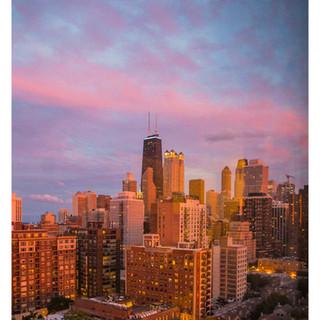 Sunset Chicago