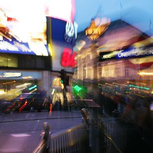 Oxford Circus Blur