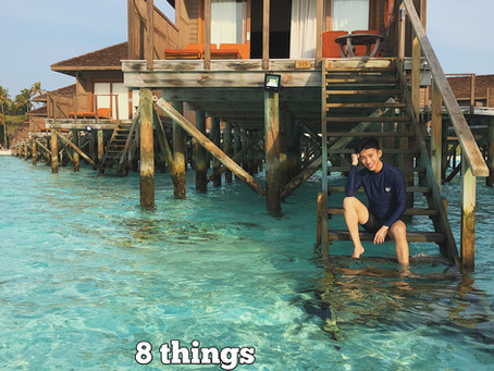 8 things to decide before visiting the Maldives
