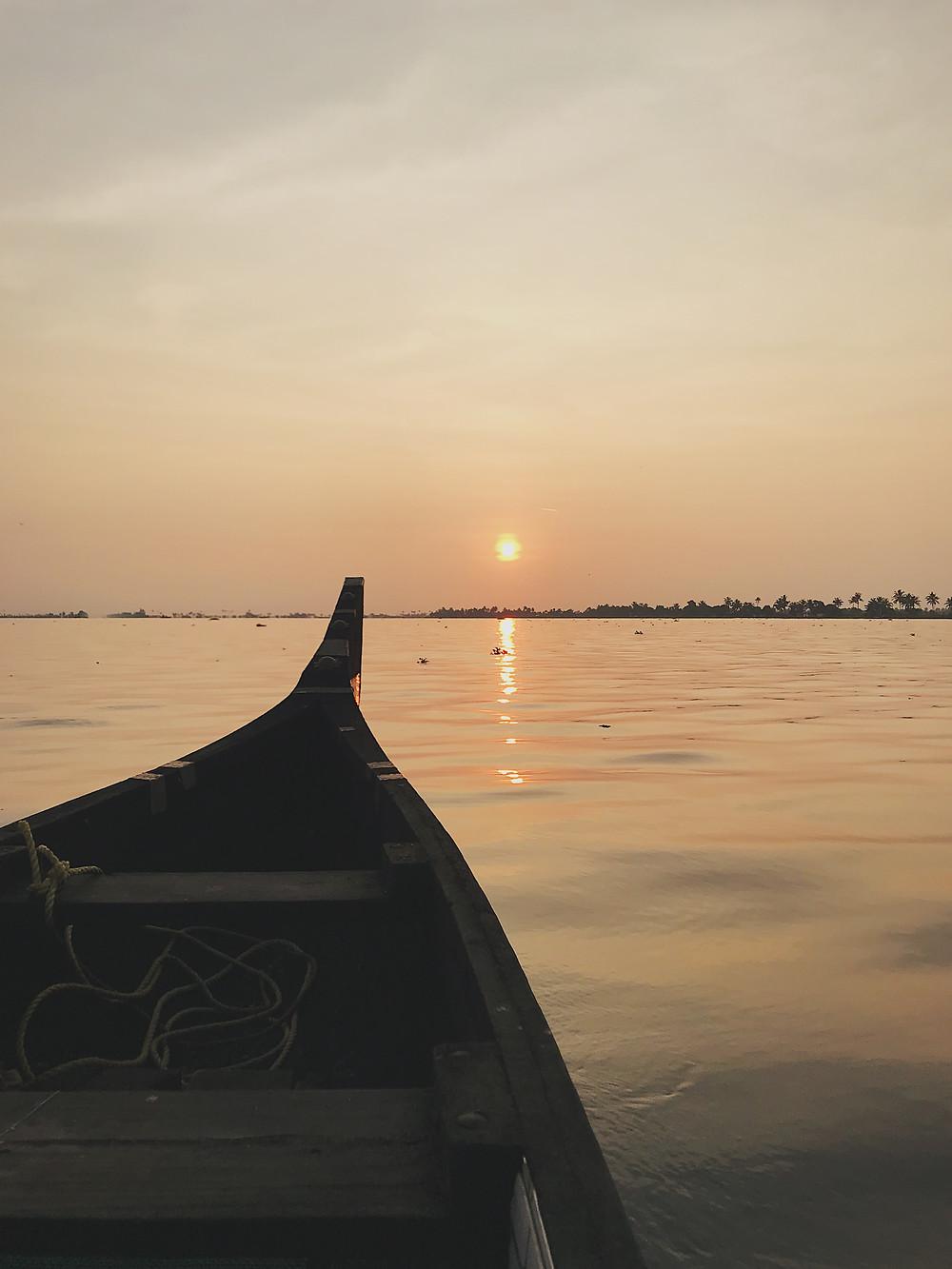 Vembanad Lake, Alappuzha, Kerala, India
