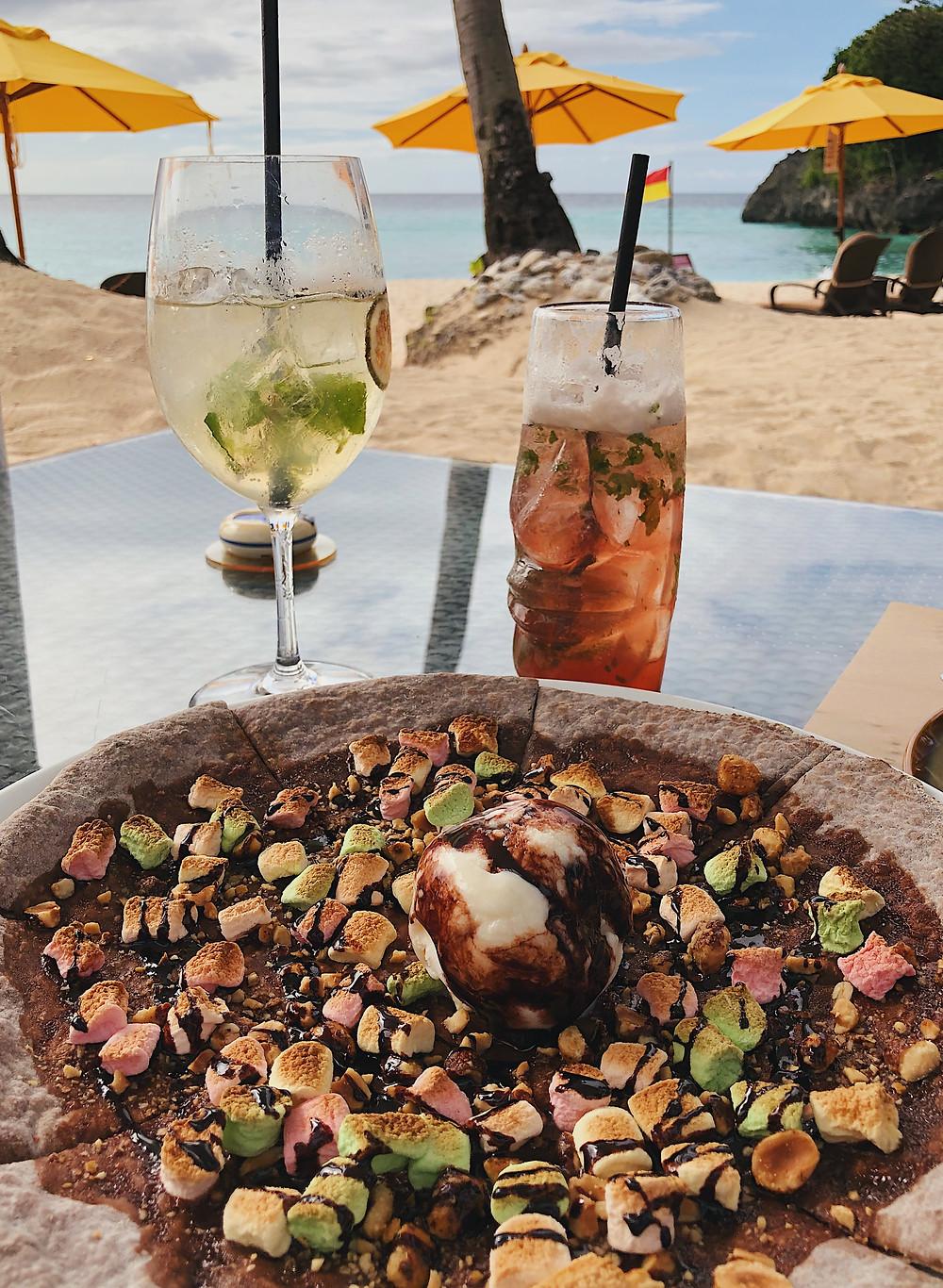 Shangri-La's Boracay food Cielo Beach
