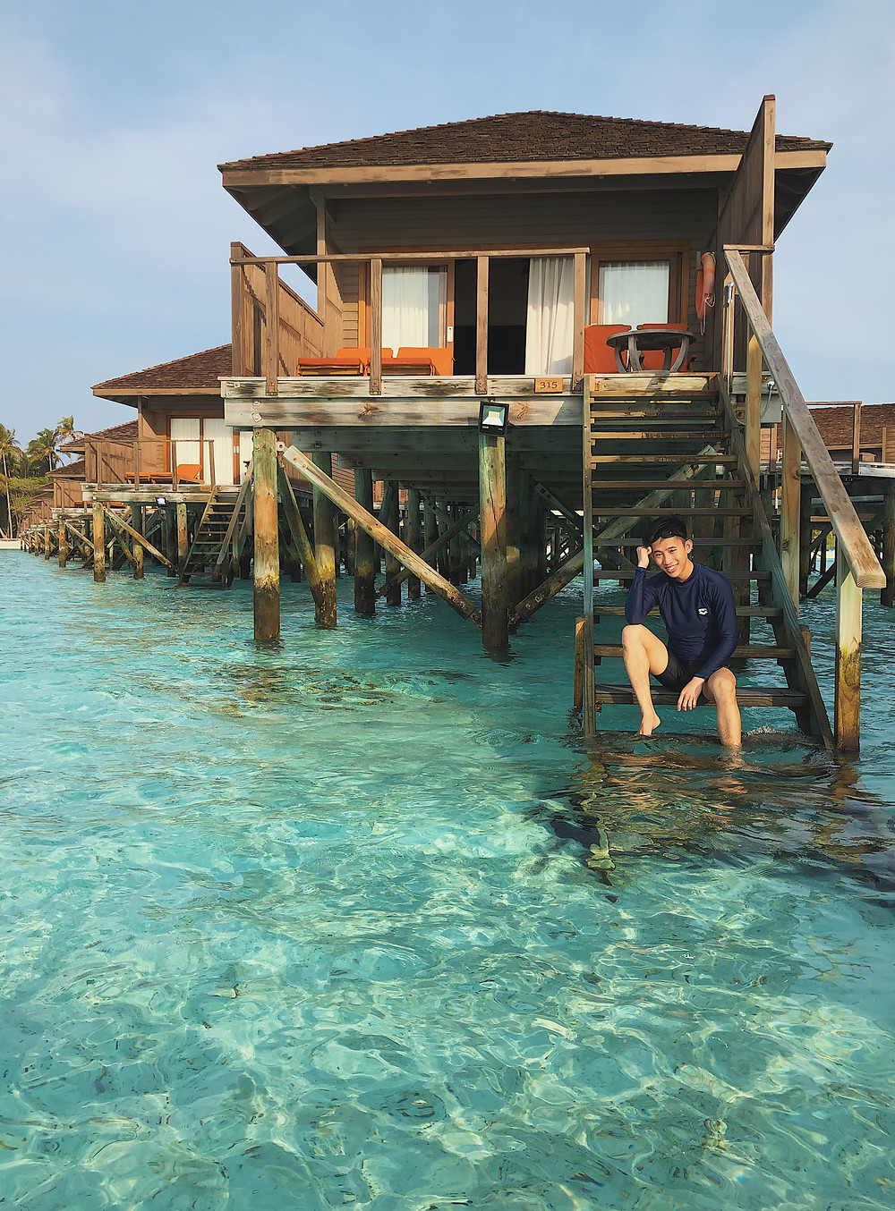 Water Villa in Meeru Island Resort & Spa, Maldives