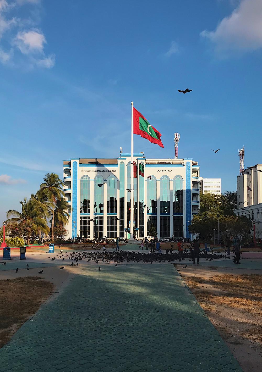Jumhooree Maidhaan, The Maldives' capital of Male