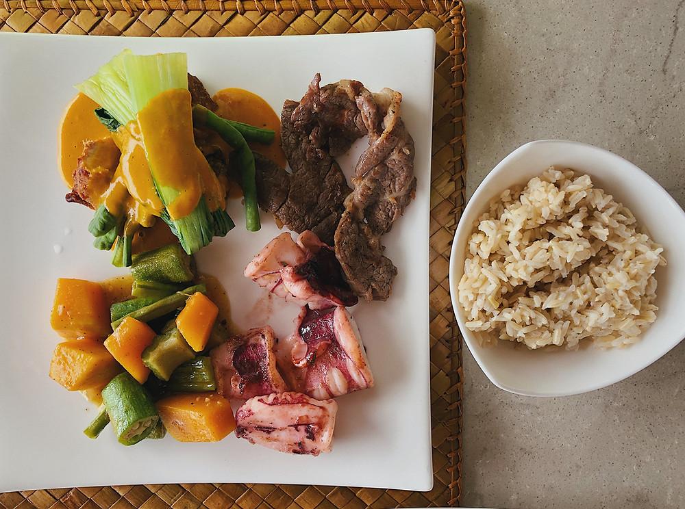Pangulasian Island El Nido food