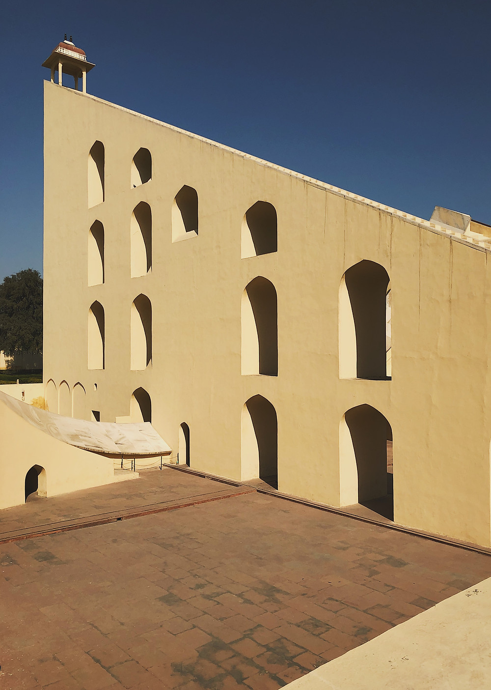 Jantan Mantar, astronomy heaven in Jaipur, Rajasthan, India