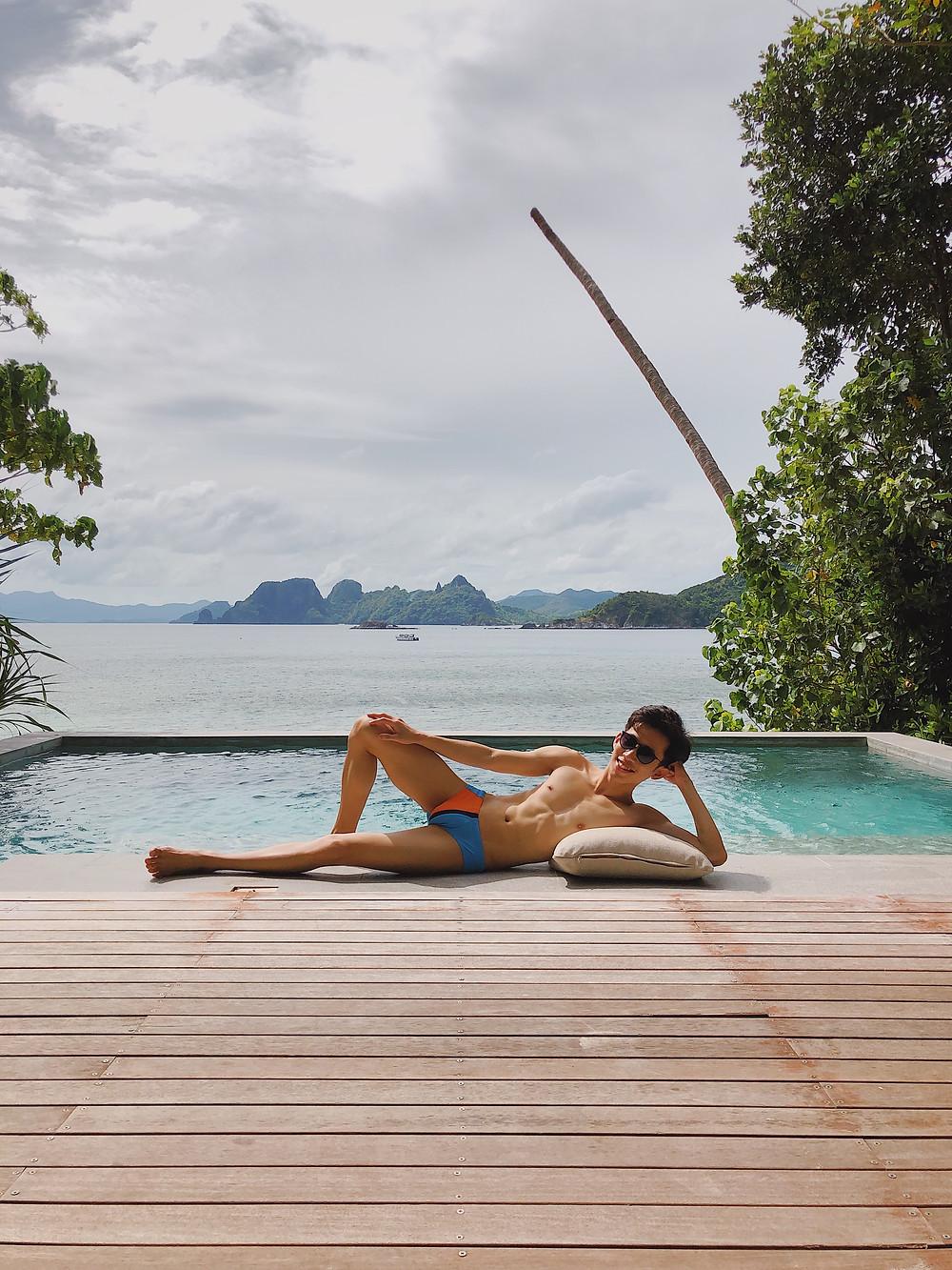 Pool Villa El Nido Resorts Pangulasian Island