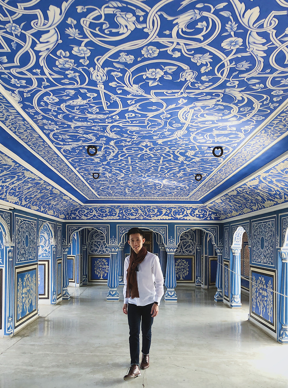 Chhavi Nivas in City Palace of Jaipur, Rajasthan, India