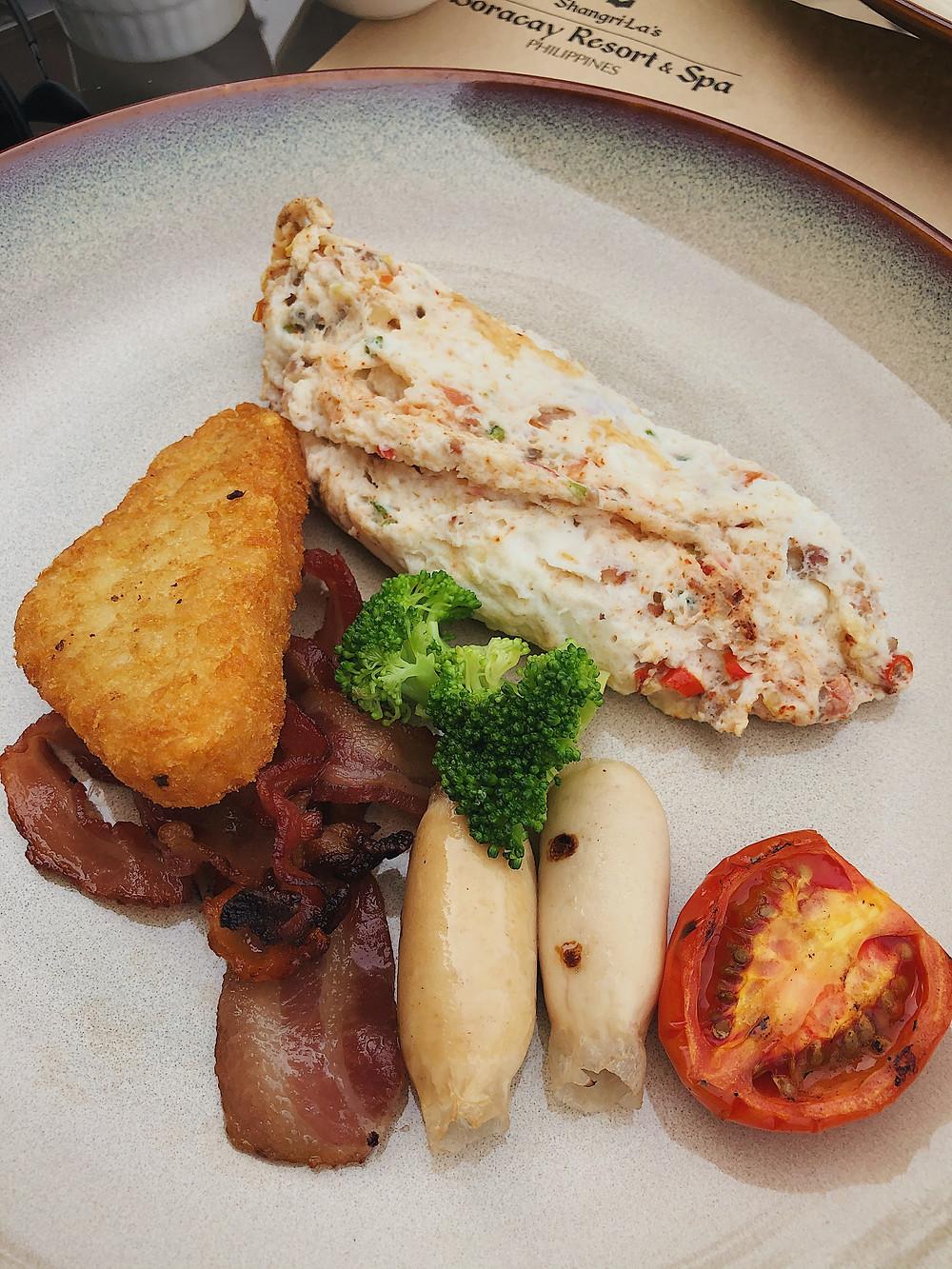 Shangri-La's Boracay food Vintana