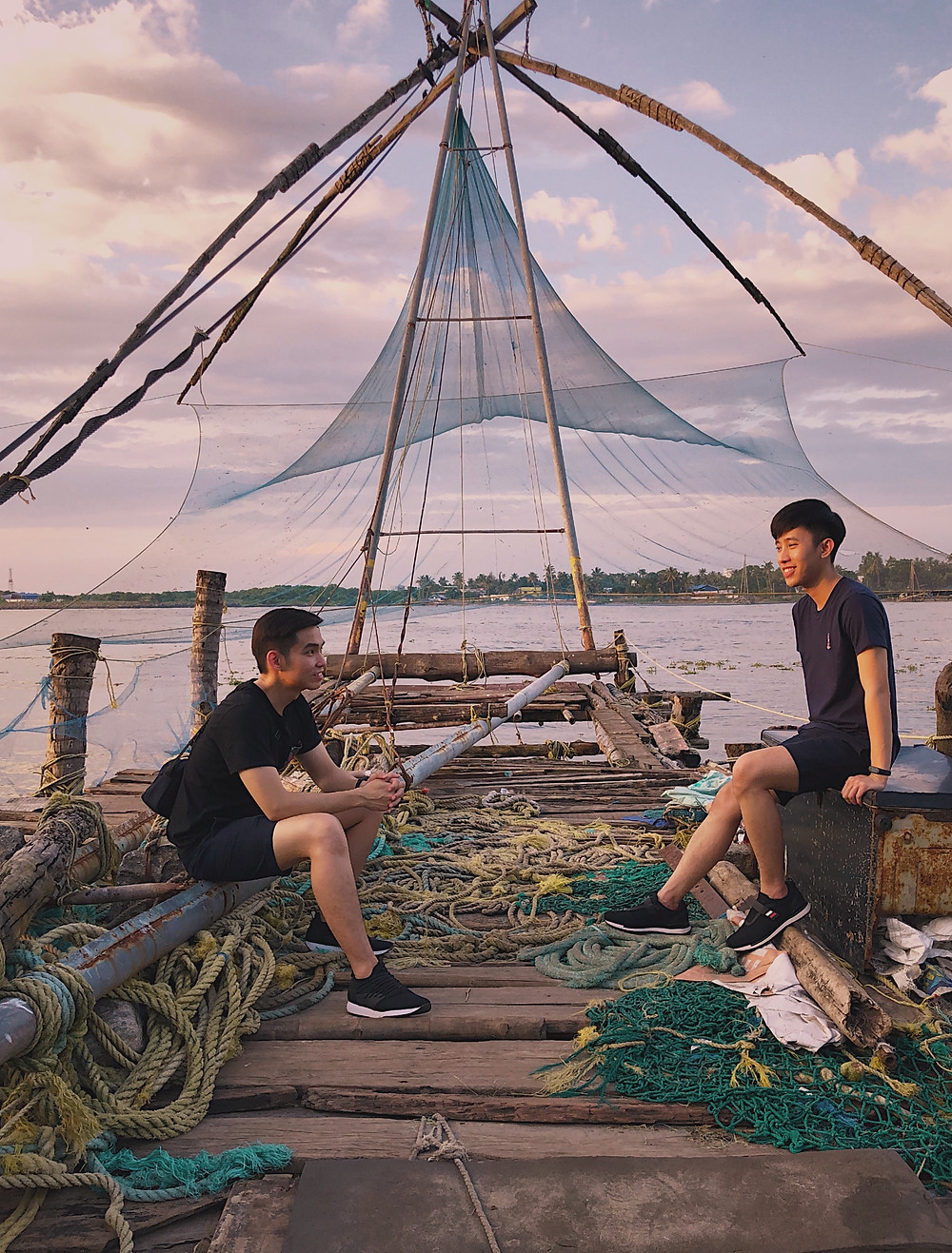Chinese Fishing Nets in Fort Kochi, Kerala, India
