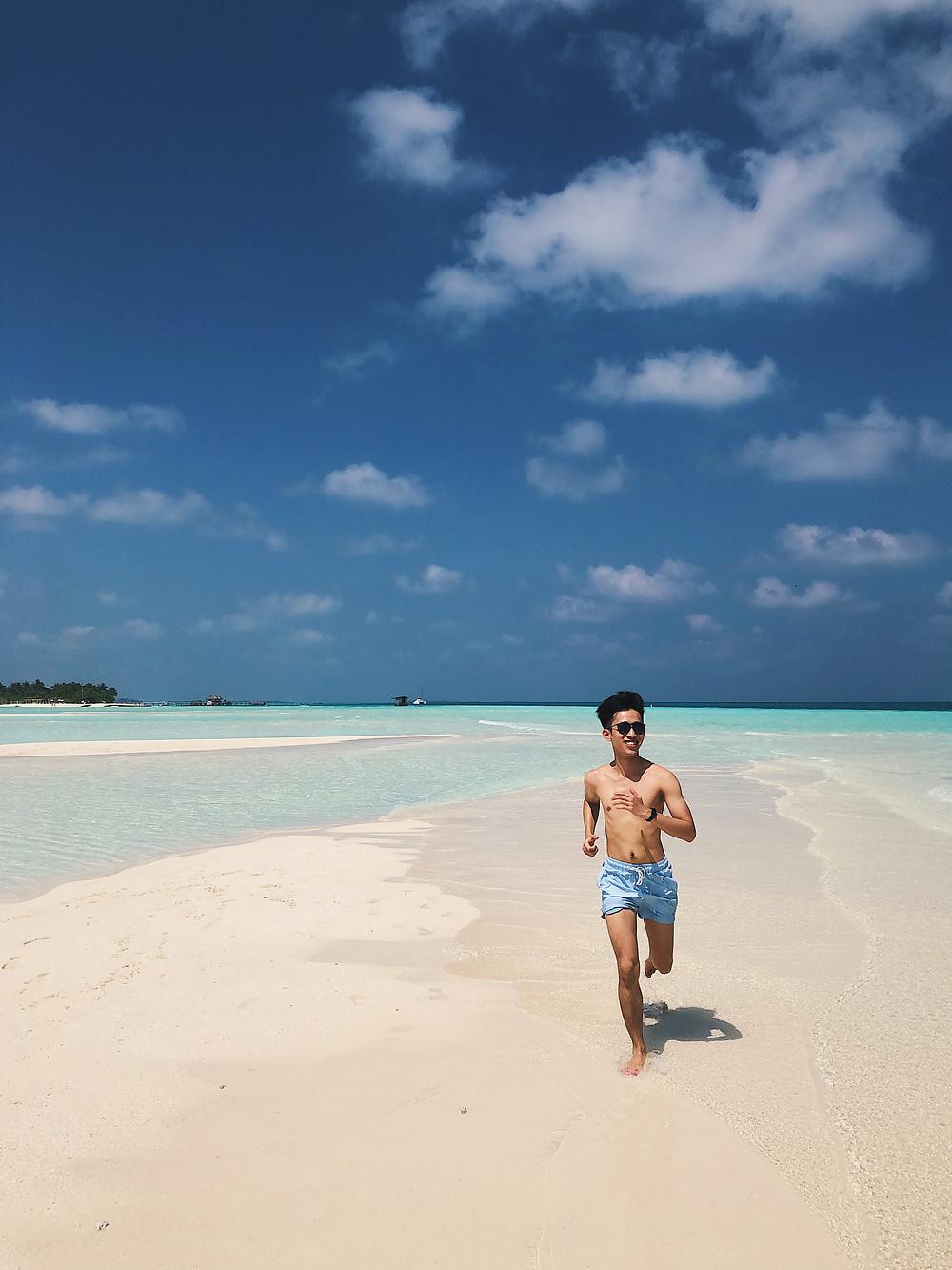Beaches in the Maldives