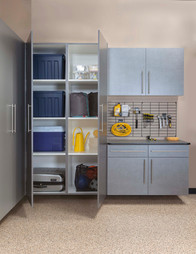Pewter Cabinets Ebony Workbench Gridwall