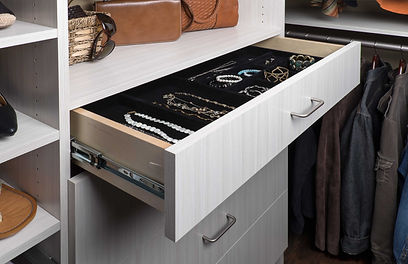 Arctic Flat Panel Drawer with Jewelry In