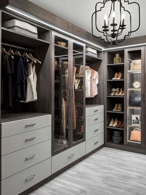 Ash and Vintage Modern Closet