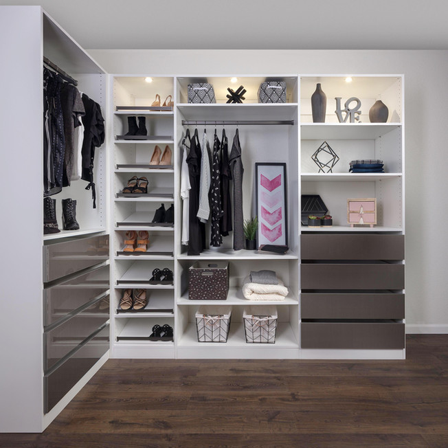 Mercury & White Closet