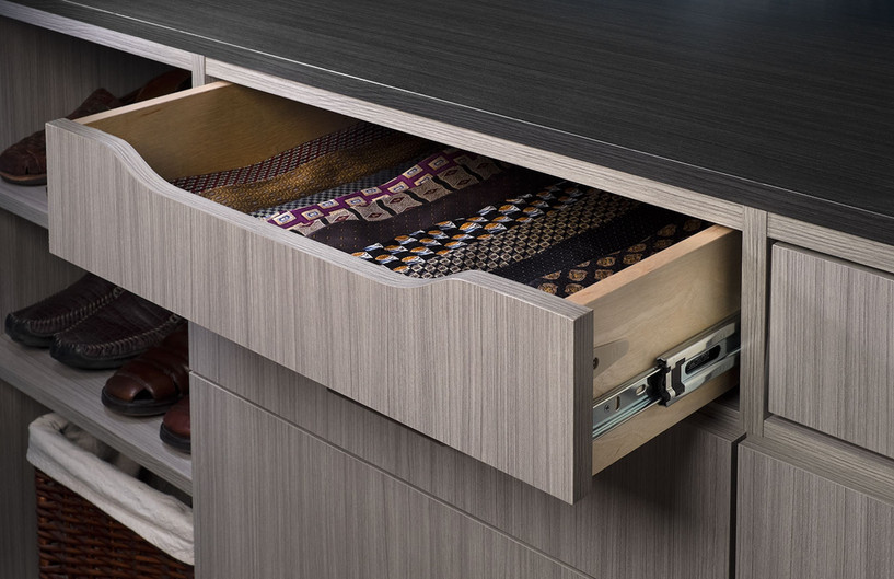 Concrete Scoop Drawer