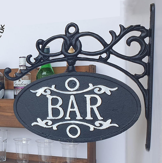 Bar Sign, Wall Mounted Sign