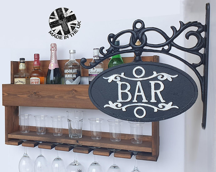 Wine - Gin and Glass Shelf OP5
