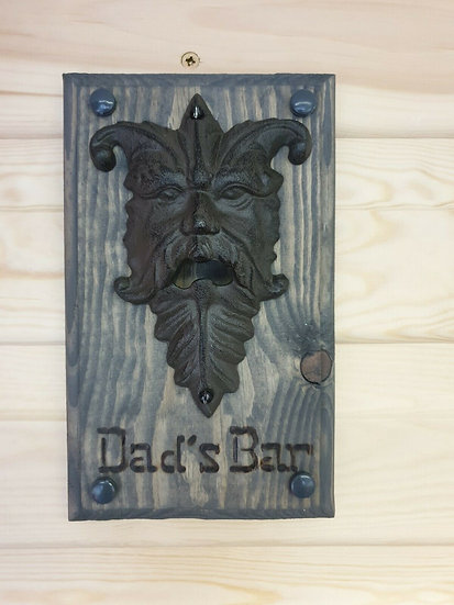 Bottle Opener, Antique Iron - Dads Bar Embedded