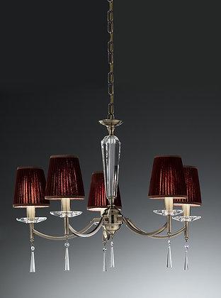 Hera 5 light Fitting  - FL2240/5