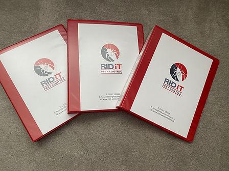 Folders RIDIT Pest Control