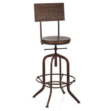 lathe-wooden-stool-antique-copper-bs4726