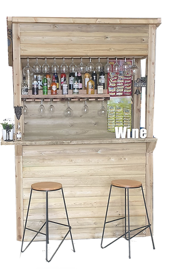 Tanalised Shiplap Garden Bar