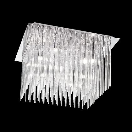 Carillon 600mm Square 10lt Flush - FL2093/10