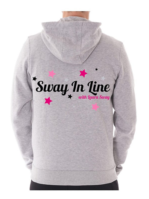 Unisex Sway In Line zip up hoodie