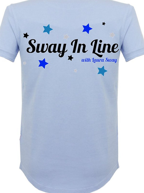 Mens Personalised Sway In Line Polo Shirt