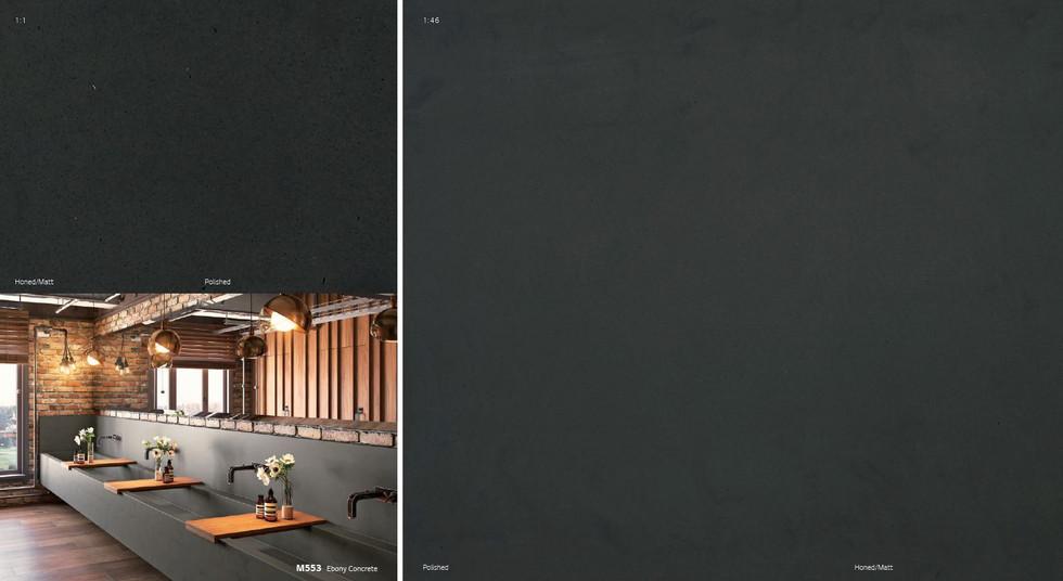 Concrete kolekcija HI-MACS®