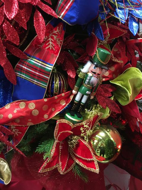 nut cracker ornaments and d stevens ribb