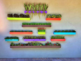 faux-succulent-patio-wall-pockets-on-wall-of-PV-house