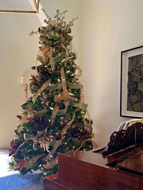 soft teal decorated CHristmas tree.jpg