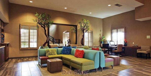 Holiday-Inn-lobby-interior-treesjpg