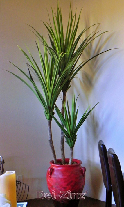 6-foot artificial giant agave tree