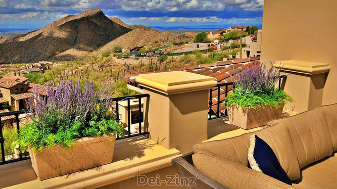 artificial-lavender-on-balcony-of-desert-view-residence