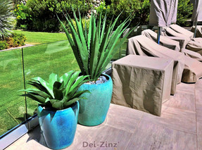 private-residence-poolside-artificial-succulents