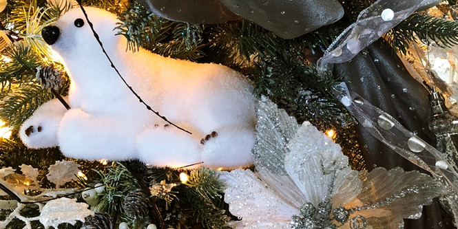 Christmas-polar-bear