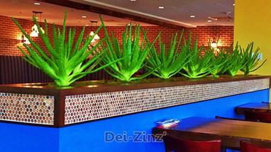 artificial aloe vera plants