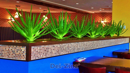 artificial aloe vera plants