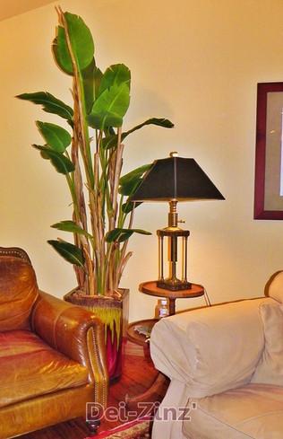silk-banana-leaves-on-dried-banana-stalk