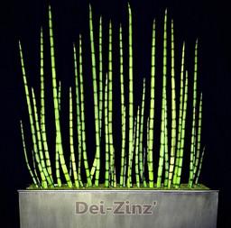 6-foot artificial snake grass sanseveria