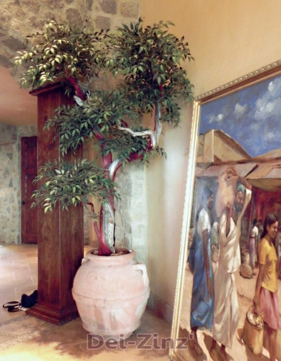 specimen silk smilax tree